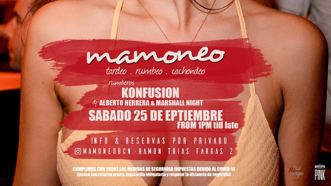 Pacha Barcelona pres. MAMONEO event cover