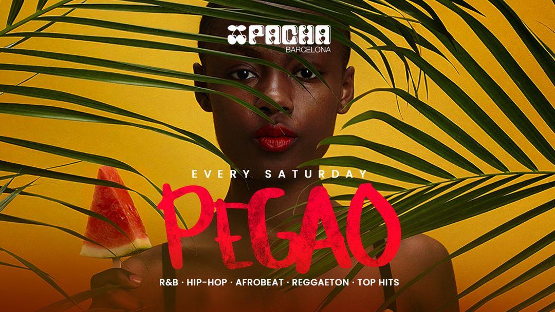Pacha Barcelona pres. PEGAO event cover