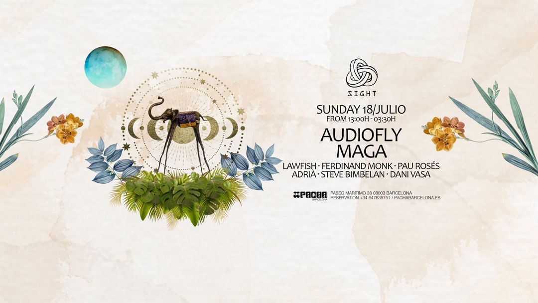 Eventos Pacha Club Barcelona todos los domingos Sight Party 2021