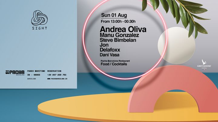 Cover for event: Pacha Barcelona pres. SIGHT