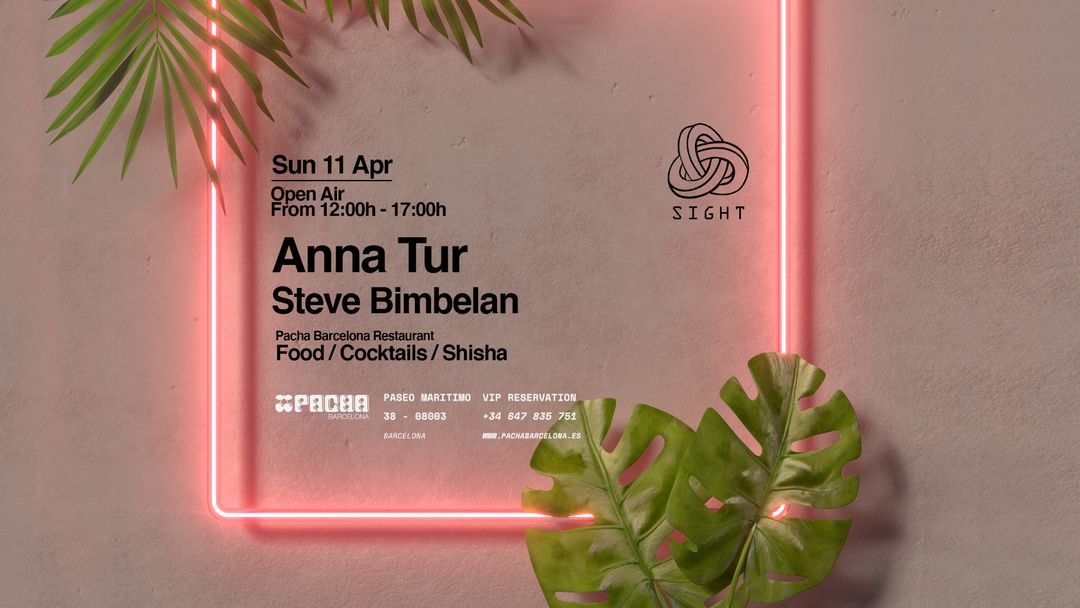 Pacha Barcelona pres. SIGHT event cover