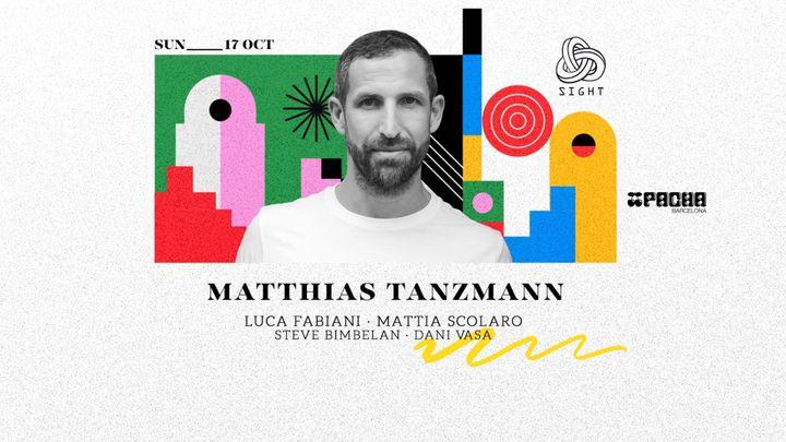Cover for event: Pacha Barcelona pres. SIGHT w/ Matthias Tanzmann, Luca Fabiani, Mattia Scolaro, Steve Bimbelan, Dani Vasa