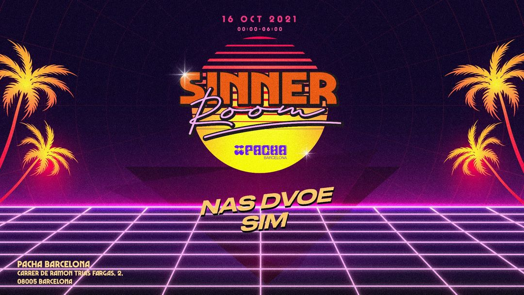 RED ROOM | Pacha Barcelona pres. SINNER event cover