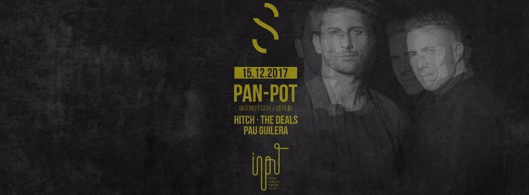 Pan-Pot presented by SWING event cover