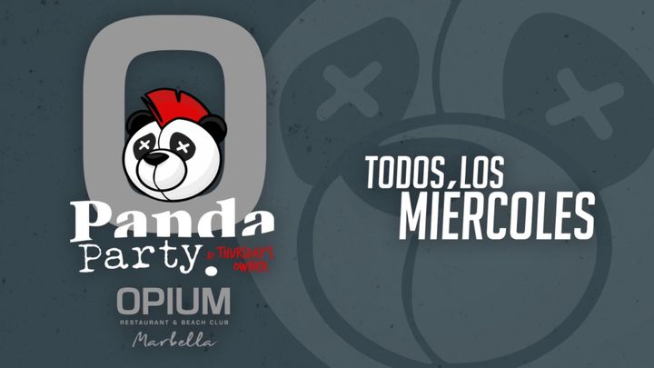 Cover for event: PANDA - OPIUM BEACH MARBELLA - MIERCOLES 5 AGOSTO