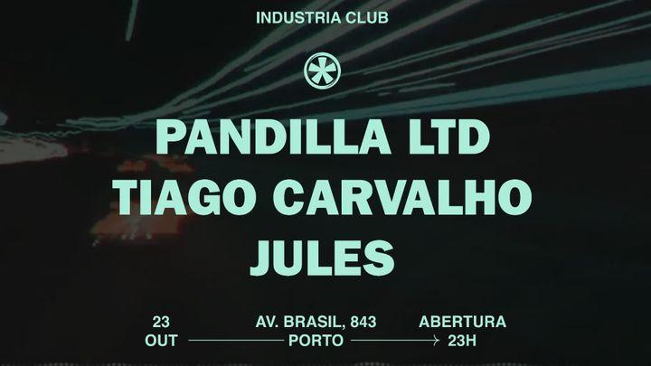 Cover for event: PANDILHA LTD - TIAGO CARVALHO - JULES