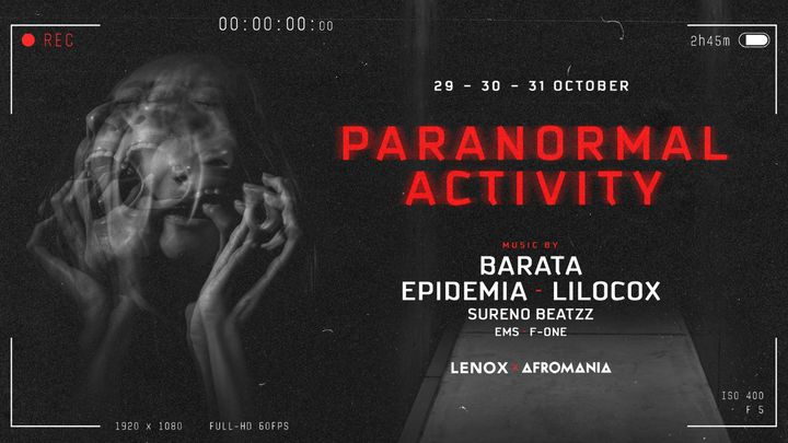 Cover for event: Paranormal Activity