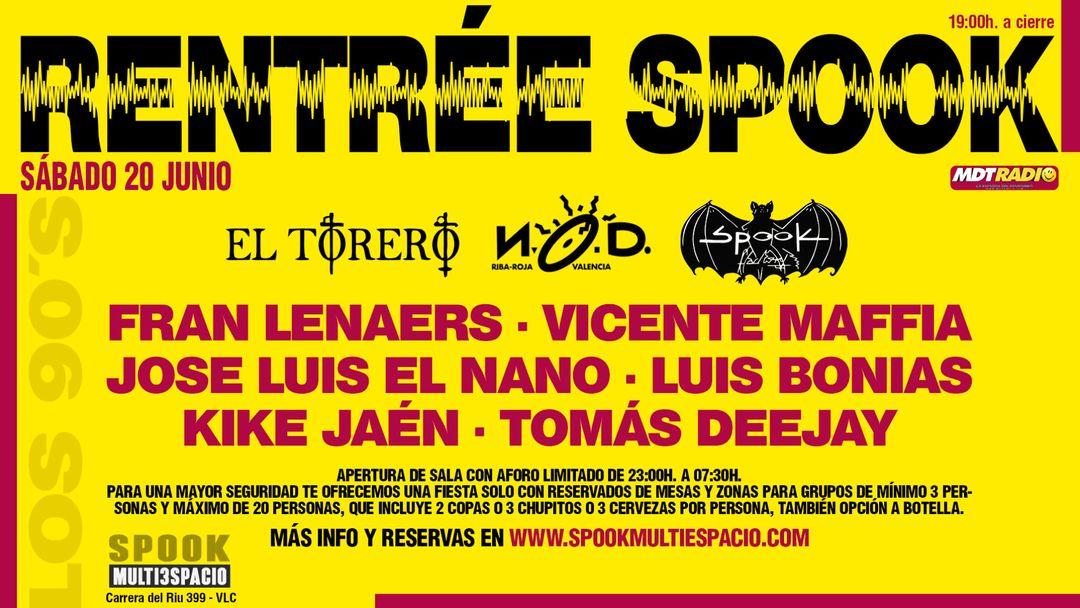 Cartel del evento RENTRÉE SPOOK