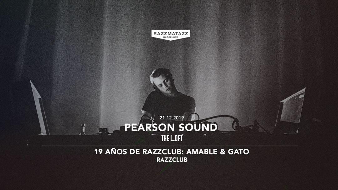 Couverture de l'événement Pearson Sound en The Loft | 19 Años de Razzclub con Amable