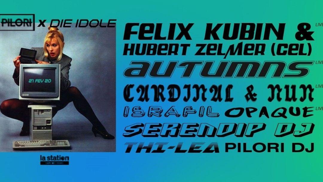 Cartel del evento Pilori x Die Idole