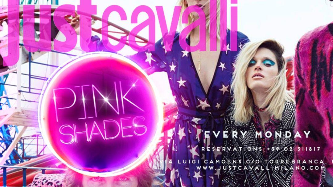 Cartel del evento PINK SHADES - MONDAY NIGHT