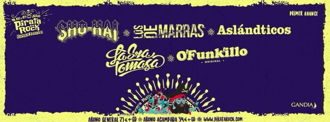 Pirata Rock Festival 2018-Eventplakat
