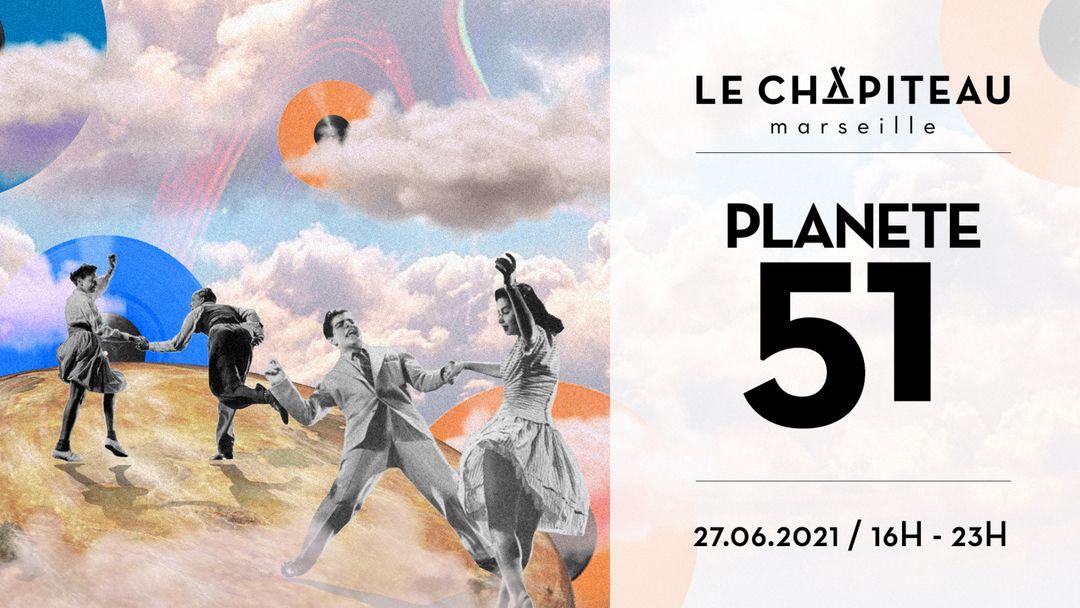 Planète 51 x Le Chapiteau-Eventplakat