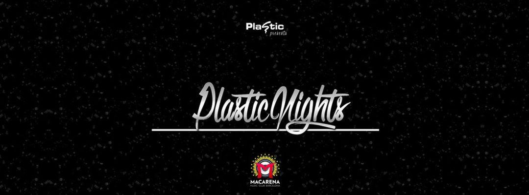 Cartel del evento Plastic Night