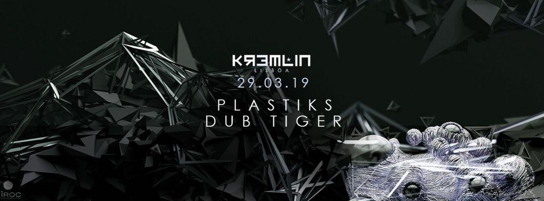 Cartell de l'esdeveniment Plastiks & Dub Tiger