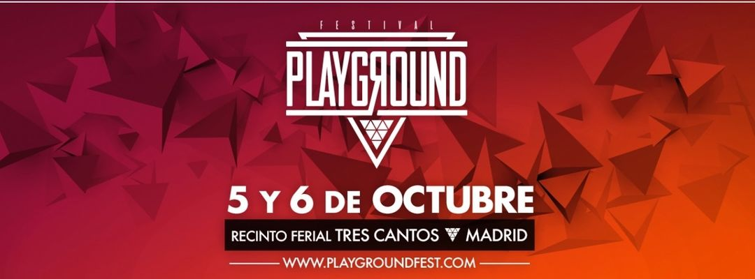 Cartel del evento Playground Fest 2018