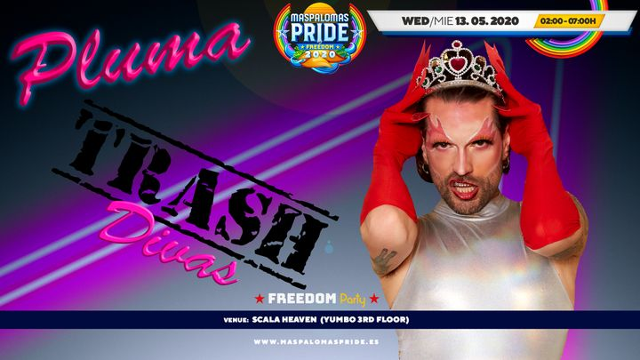 Cover for event: PLUMA Trash Divas - Official Event Maspalomas Pride 2020