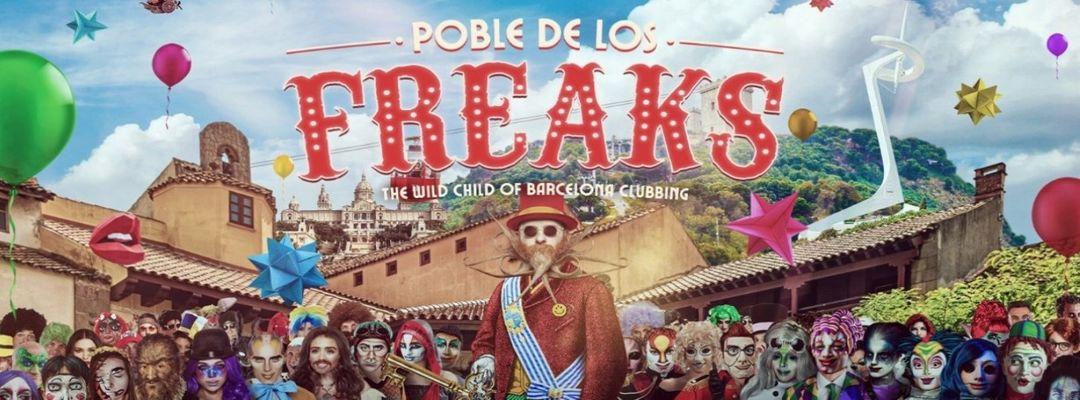 Poble De Los Freaks, La Terrrazza-Eventplakat