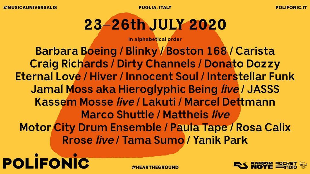 Copertina evento Polifonic 2020
