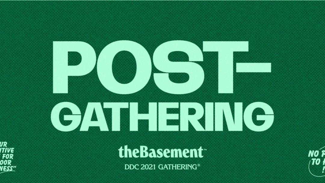 Cartel del evento Post-Gathering #1 Sábado   El Chiringuito