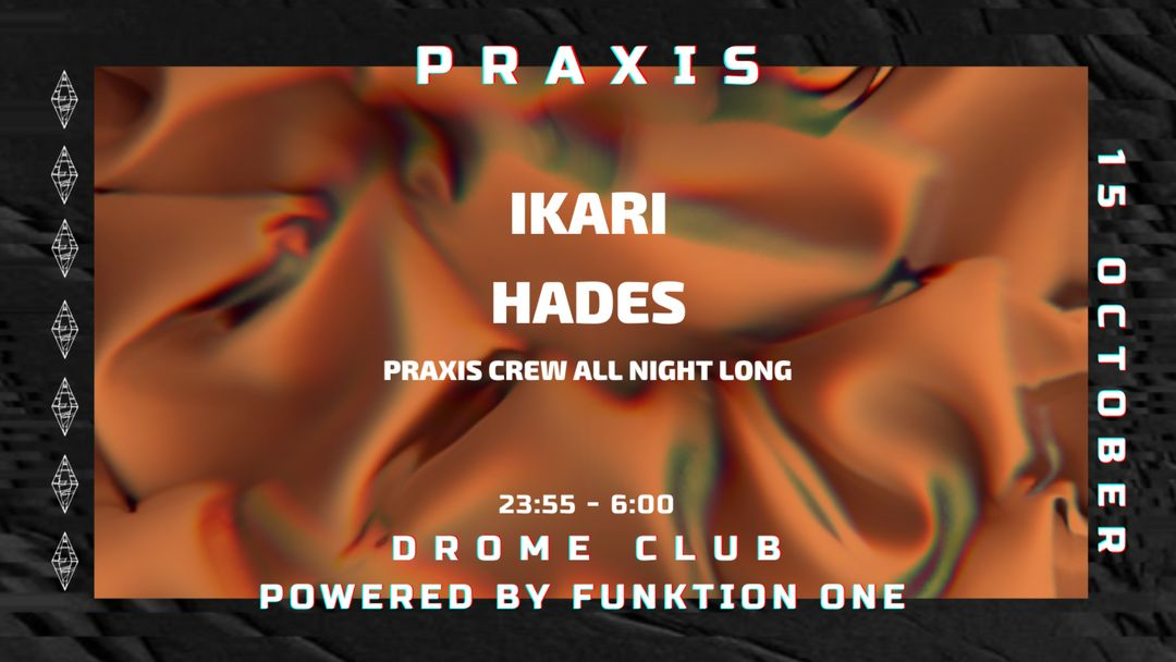 Praxis at Drome event cover