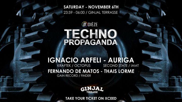 Cover for event: Propaganda Techno