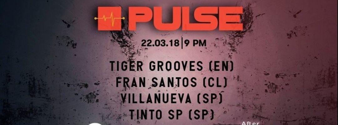 Cartel del evento PULSE @Garage442