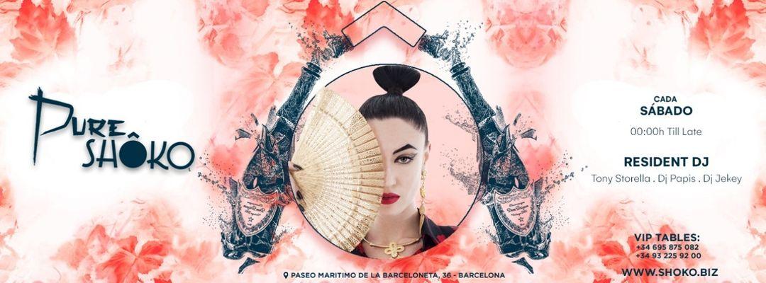Pure Shôko | Tony Storella & Papis event cover