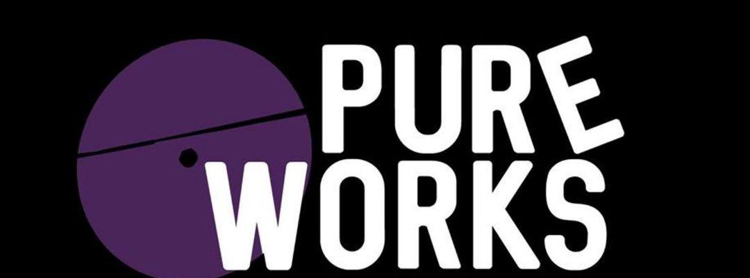 Pure Works presenta Morphology (live), The Zenobit3 + Pelacha, Retract Maple (live), Axia.-Eventplakat