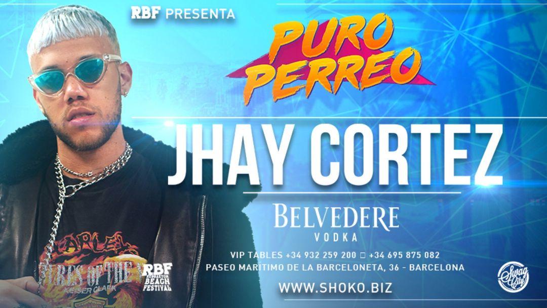 Copertina evento Puro Perreo con Jhay Cortez