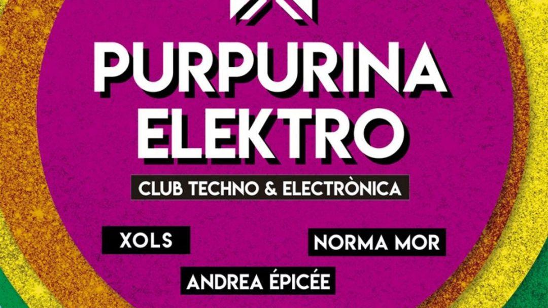 Couverture de l'événement PURPURINA ELEKTRO