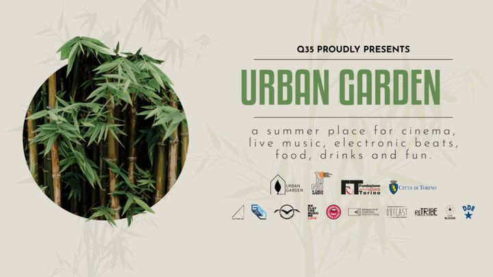 Cover for event: Q35 Urban Garden - Acquamarina by Cobra e Kwality