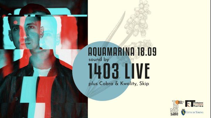 Cover for event: Q35 Urban Garden - Acquamarina sound by 1403 live, Cobra & Kwality, Skip