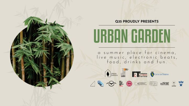 Cover for event: Q35 Urban Garden - Aquamarina by Cobra e Kwality