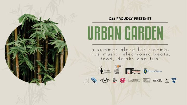 Cover for event: Q35 Urban Garden - Hanglovers Party