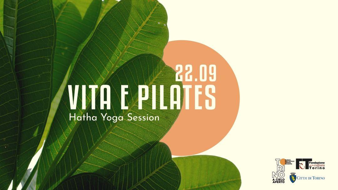Cartel del evento Q35 Urban Garden - Hatha Yoga