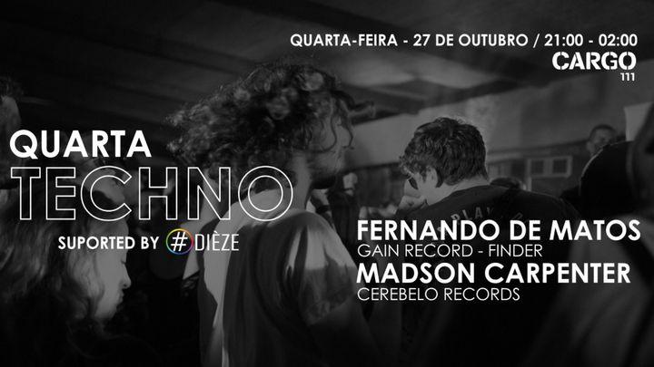 Cover for event: QUARTA TECHNO #1
