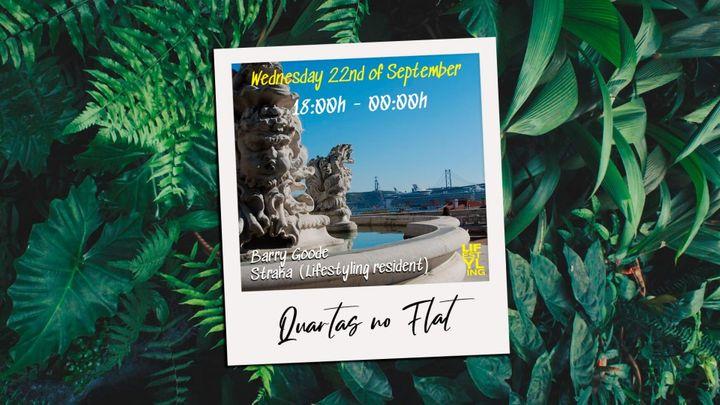 Cover for event: Quartas no flat