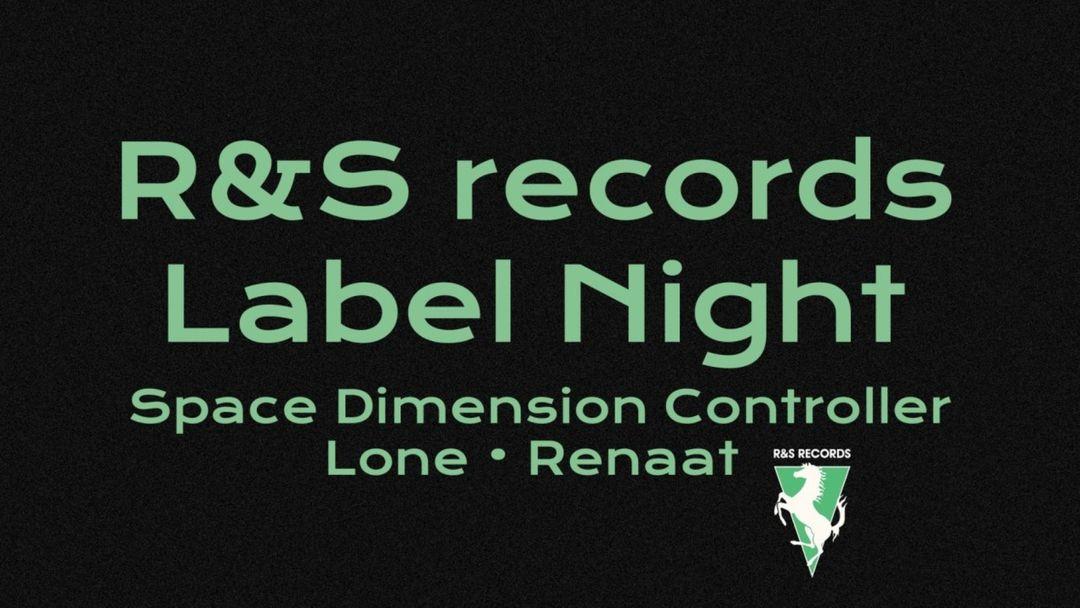Cartel del evento R&S Records: Space Dimension Controller, Lone, Renaat