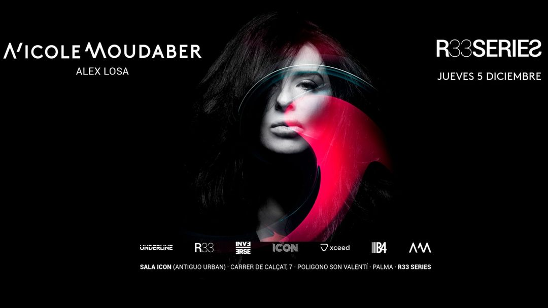 R33 Series present NICOLE MOUDABER event cover