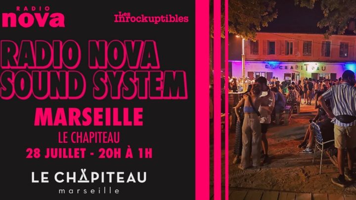 Cover for event: Radio Nova Sound System au Chapiteau