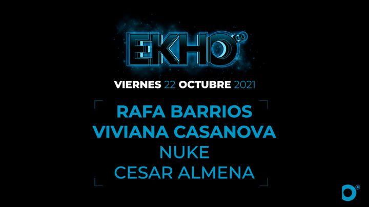 Cover for event: EKHO Rafa Barrios + Viviana Casanova