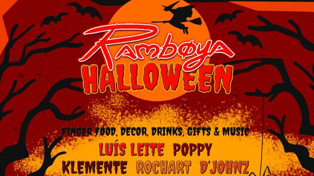 Cartel del evento Ramboya Halloween 2020