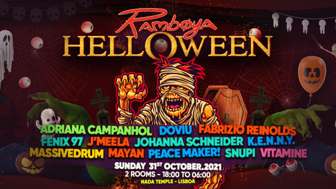 Ramboya Hell-o-ween 12h Festival event cover