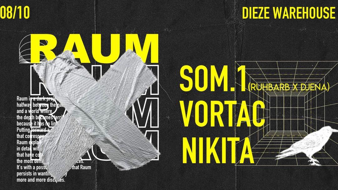 Copertina evento RAUM birthday Akt 2 @Dieze Warehouse