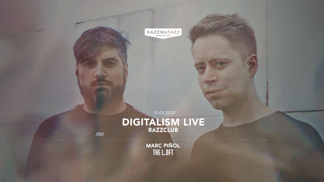 Cartel del evento Razzclub w/ Digitalism LIVE | The Loft w/ Marc Piñol