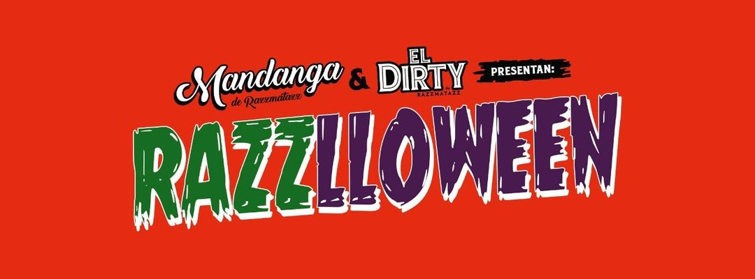 Capa do evento Razzlloween by El Dirty & Mandanga