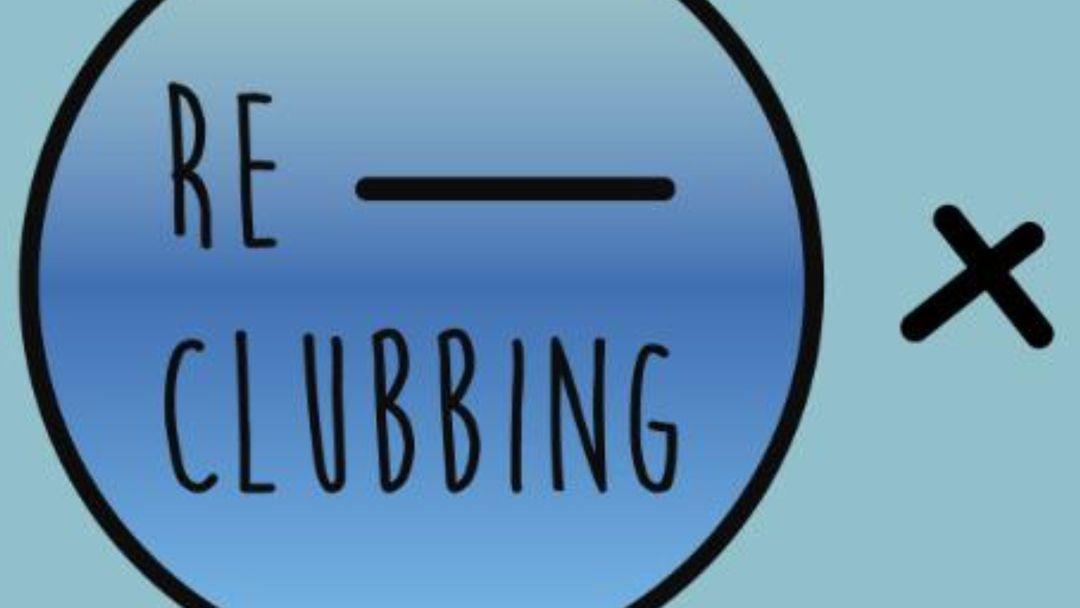 RE-CLUBBING event cover