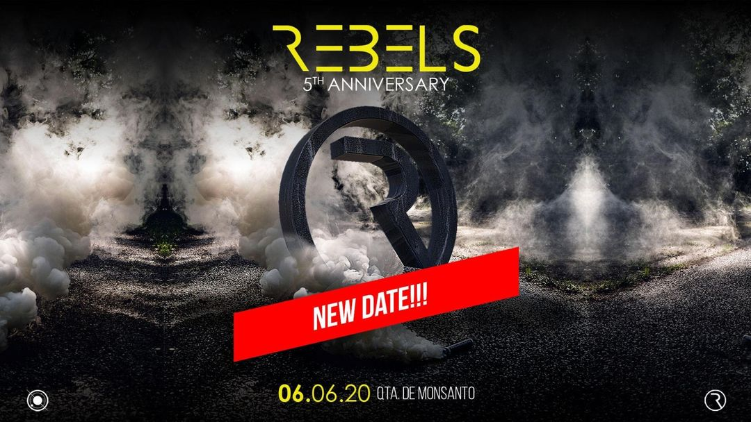 Copertina evento REBELS 5 Years