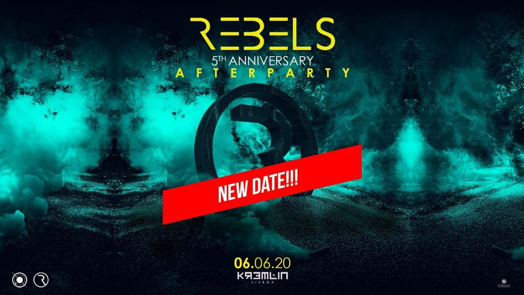 REBELS 5th Anniversary After Party-Eventplakat
